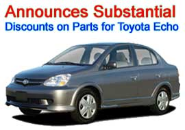 TLS Auto Recycling Announces Substantial Discounts on Parts for Toyota Echo